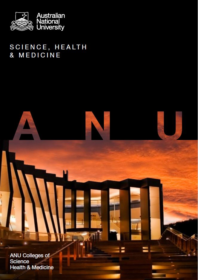 ANU Colleges of Science college guide cover