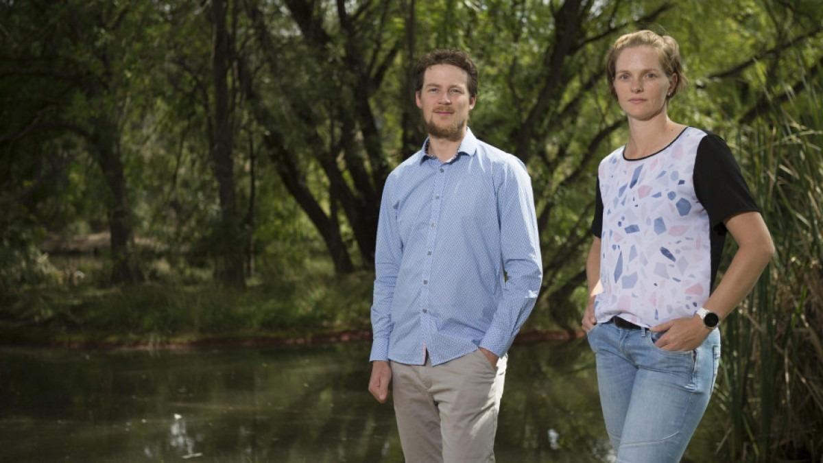Dr Ben Scheele and Dr Claire Foster