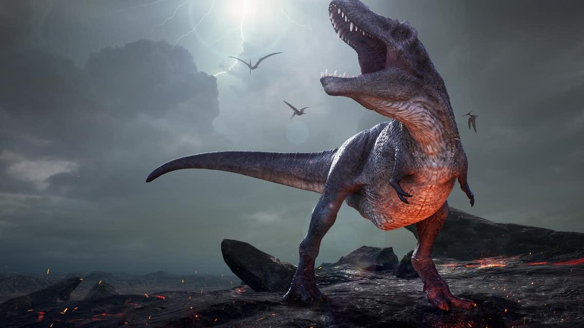 An asteroid wiped out the dinosaurs 66 million years ago. Shutterstock